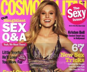 Kristen Bell Cosmopolitan